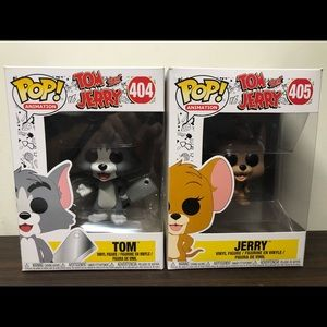 Tom and Jerry Funko Pop Lot